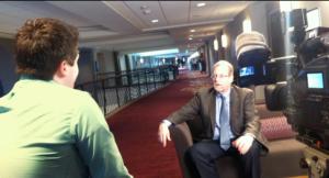 Matt Schrader interviews Peter Greenberg March 1, 2012.